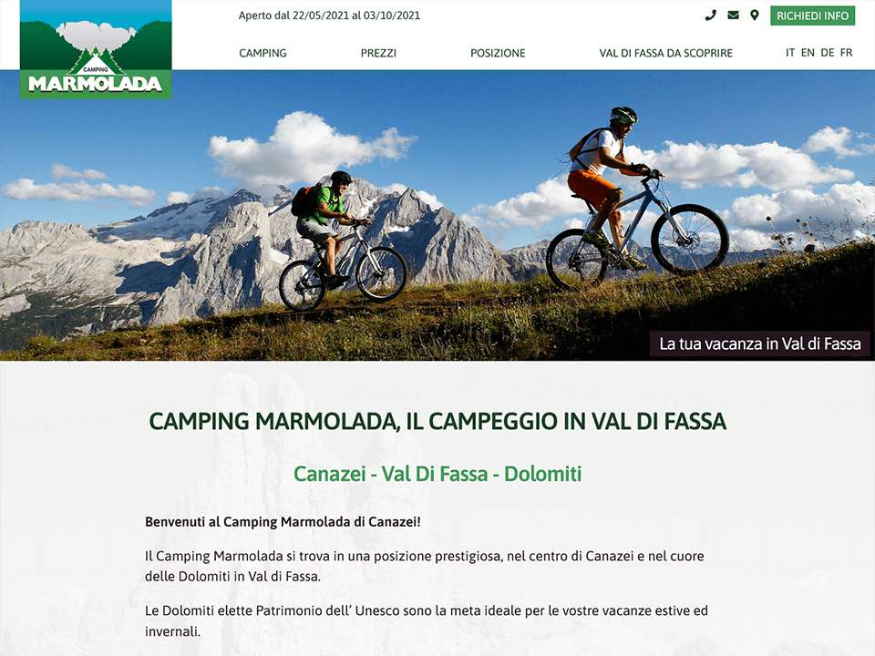 Camping Marmolada