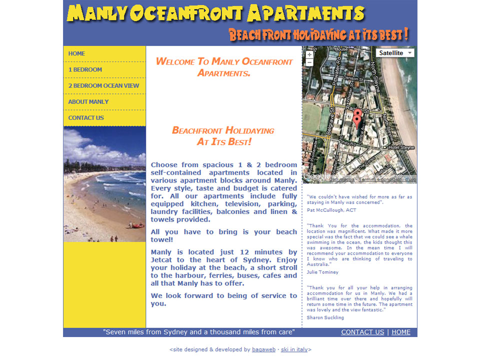 Manly Oceanfront Apartments